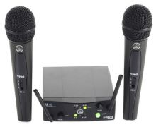 MICROFONE AKG WMS40 PRO MINI DUAL VOCAL